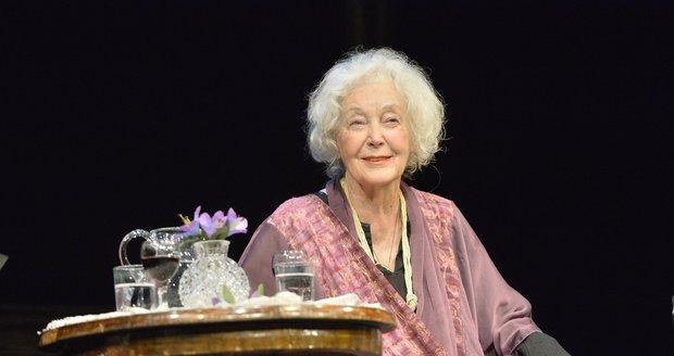 Květa Fialová (85): Neví, kde je! Ale pamatuje si, že je herečka!