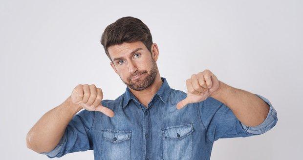 10 největších módních chyb, kterých se dopouštějí čeští muži!