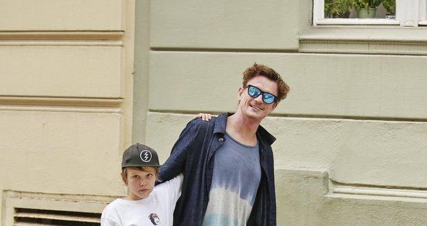 Tomáš Měcháček ukázal jedenáctiletého syna Nikitu
