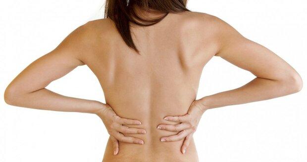 Na ukládání tuků na zádech nejlépe platí cvičení, dietou moc ovlivnit nejde