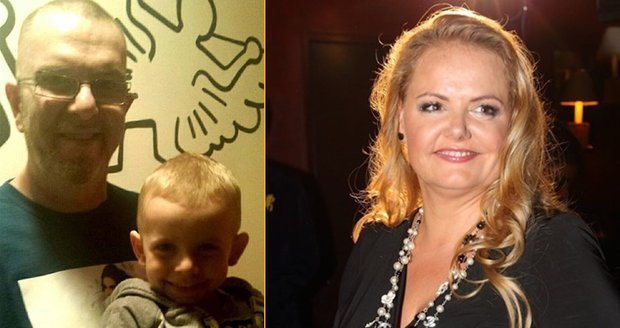 Richard Müller se na sociální síti pochlubil společnou fotkou s nejmladším synem Markusem, kterého má s partnerkou Vandou Wolfovou.
