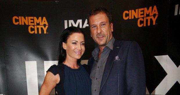 Gábina s manželem Danielem