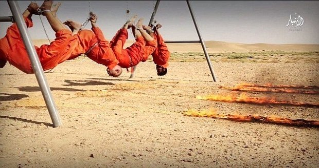 Islamisté krutě vraždí své zajatce.