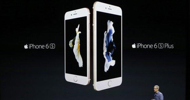 Apple představil iPhone 6s a iPhone 6s Plus.