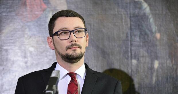 Hradní mluvčí Jiří Ovčáček.