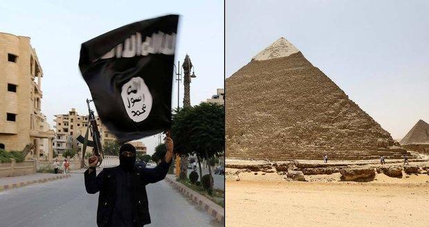 Bombu u egyptských pyramid nastražil Islámský stát