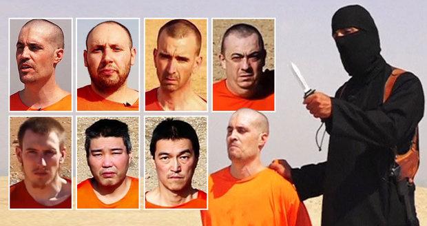 Oběti džihádisty Johna, kterým krutě uřízl hlavy.