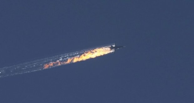 Turci sestřelili ruskou stíhačku, prý narušila jejich vzdušný prostor.