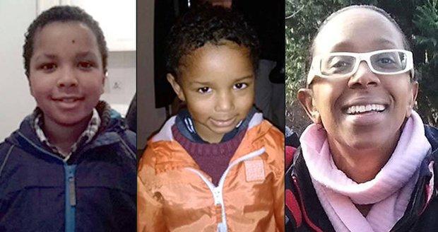Sian Blake se ztratila i se svými syny.