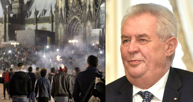 Prezident Miloš Zeman a útoky v německém Kolíně nad Rýnem