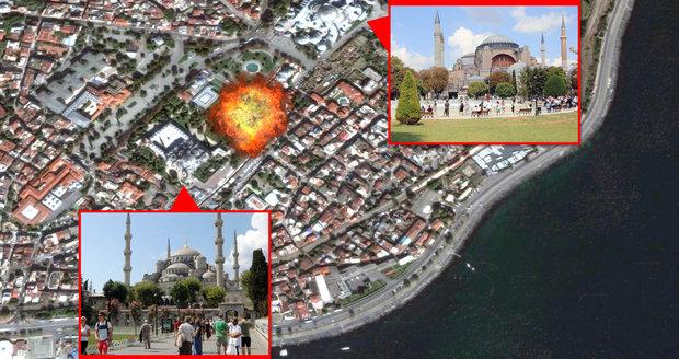 Němci varují turisty, ať se v Istanbulu vyhnou památkám. České úřady vyčkávají