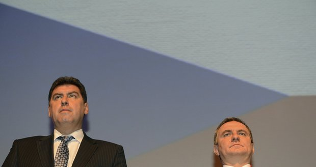 Sjezd SPOZ v roce 2013: Martin Nejedlý a Vratislav Mynář