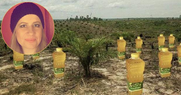 Jana už výrobky s palmovým olejem nekupuje. Ke všem našla alternativu.