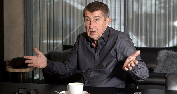 Vicepremiér Andrej Babiš (ANO) je kvůli svému majetku častým terčem opozice, ale i koaličních partnerů.