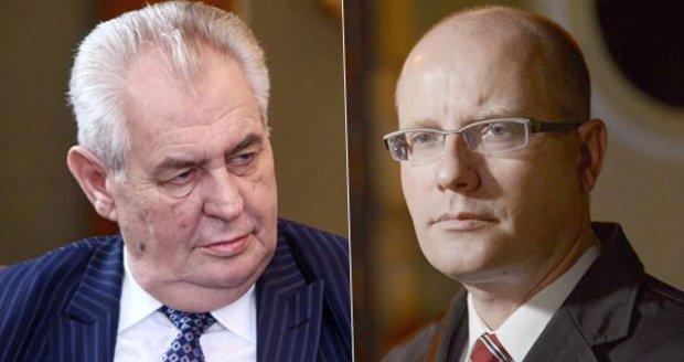 """""""Svině,"""" vmetl Zeman Sobotkovi za Babiše. Premiér: A bude to s ním ještě horší"""