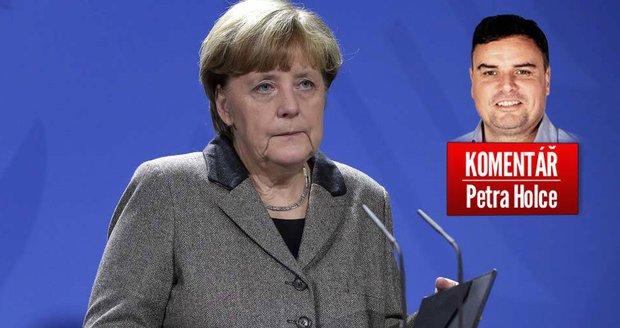 Komentář: Než padne Merkelová, padne možná Europa.