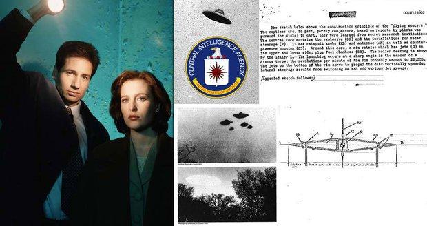 CIA zveřejnila tisíce doposud tajovaných dokumentů o mimozemšťanech a nevysvětlených jevech.