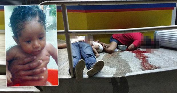 Mexičtí gangsteři nemilosrdně prošpikovali kulkami mladý pár i s jejich sedmiměsíčním chlapcem.