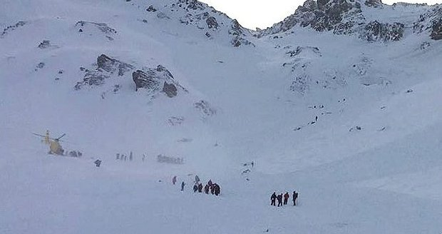 Lavina v Tyrolsku zabila pět Čechů.