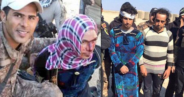 Džihádisté z ISIS se pokusili utéct z iráckého Ramádí v převlečení za ženy.