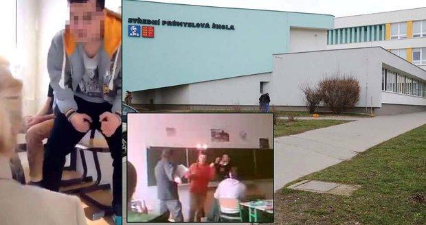 Průmyslovka Na Třebešíně v Praze - Malešicích, kde žáci utýrali učitelku Ludmilu, má v šikaně učitelů tradici. Videa dokládají, že žáci zesměšňovali kantory už dříve!