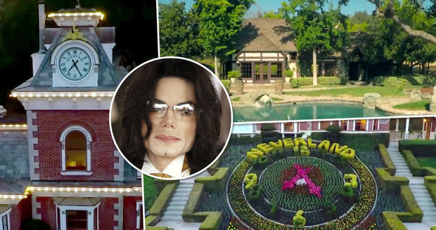 Jacksonův Neverland stále čeká na nového majitele!