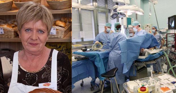Jaroslava Obermaierová alias Vilma Nyklová zmizí z Ulice kvůli operaci.