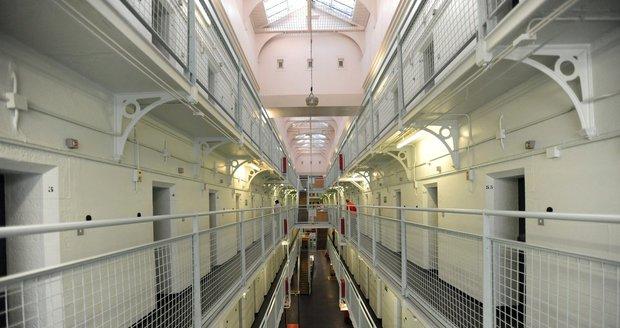 Interiér skotské věznice Barlinnie