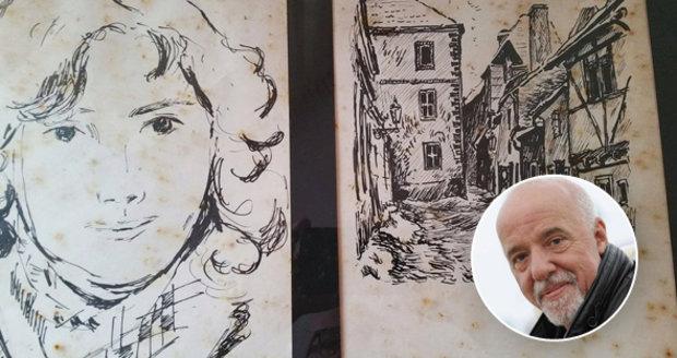 Spisovatel Paulo Coelho hledá českého malíře! Kreslil ho před 34 lety ve Zlaté uličce
