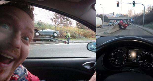 """Parkování na Brňáka vs. na Pražáka: Kde jsou větší """"umělci""""?"""