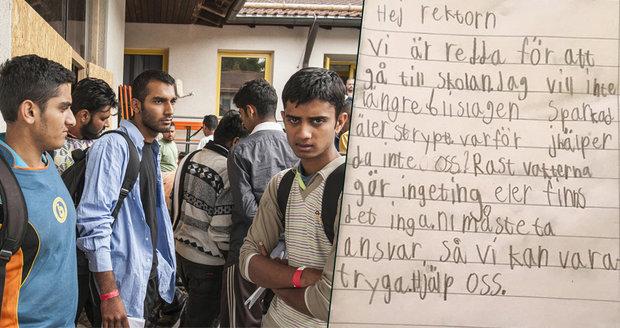 Švédové ze strachu neposílají děti do školy. Bijí je tam potomci uprchlíků