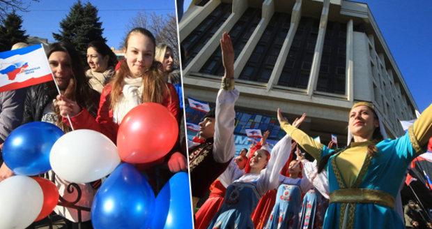 Dva roky ruského Krymu? Lidé na poloostrově slaví, Porošenko mluví o agresi