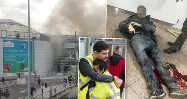 Svědci popsali teroristické útoky v Bruselu.