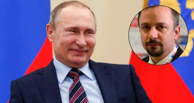 Ruského prezidenta Vladimira Putina podrobil ostré kritice místopředseda TOP 09 Marek Ženíšek.