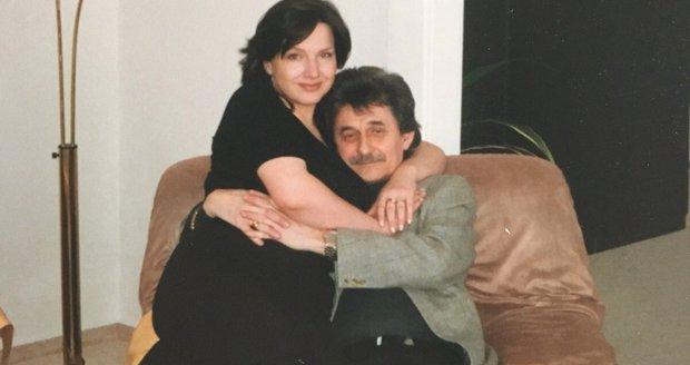 Rezková bojuje od tragické smrti svého manžela Jiřího Brabce s depresemi.