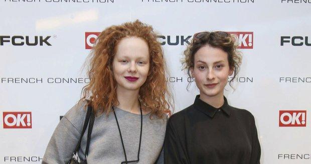 Anna Linhartová a Anna Fialová