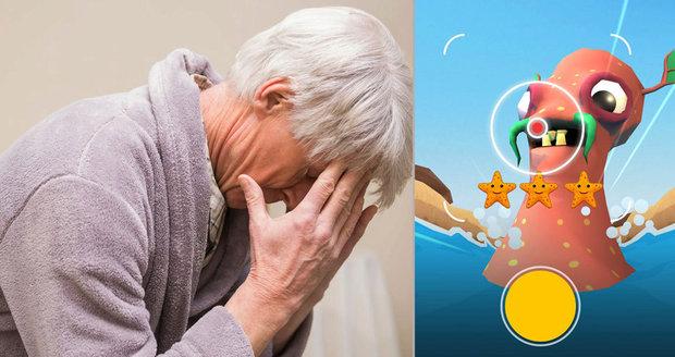 """Boj proti demenci? Pomoct můžete i z tepla domova, stačí """"zapařit"""" hru"""