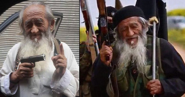 Nejstarší terorista světa: V řadách ISIS bojuje 81letý Číňan