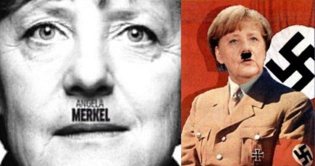 Turci zuří kvůli Němcům a genocidě. Noviny přidaly Merkelové Hitlerův knírek