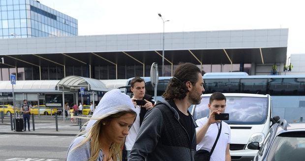 Jaromír Jágr s přítelkyní Veronikou