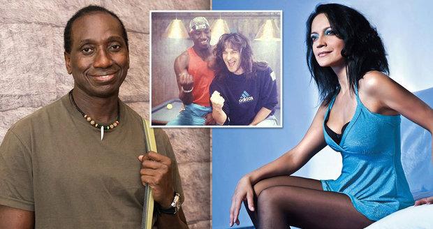 Černošský herec Ibrahim Maiga přiznal poměr s Lucií Bílou.