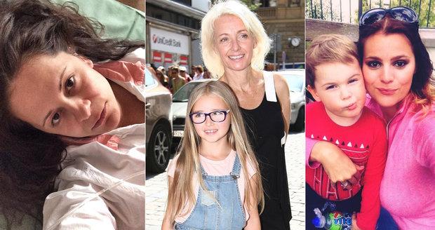 Slavné maminky, které dávají svým dětem podivná jména.