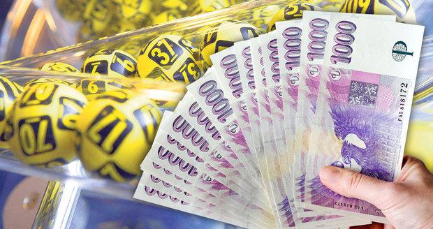 Česko má letos už 73 nových milionářů. Výhra šla i na oslavu pro 100 lidí