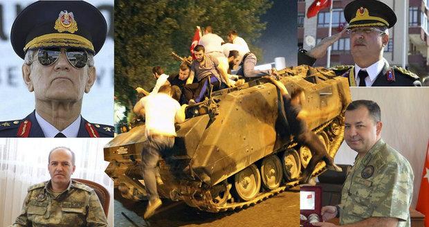 Tohle jsou tváře tureckých vzbouřenců: Jejich touha po svržení Erdogana zabila 265 lidí