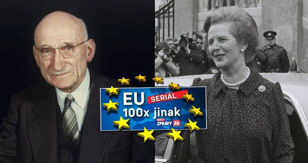 Evropská unie vznikla jako odveta válce. Proč se státníci báli Thatcherové?