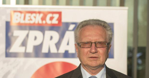 Jan Veleba byl hostem předvolební debaty Blesku.