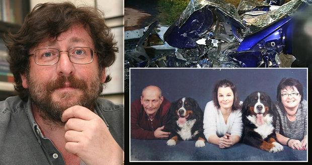 Nehoda sexuologa Weisse: Rodině obětí poslal omluvný dopis