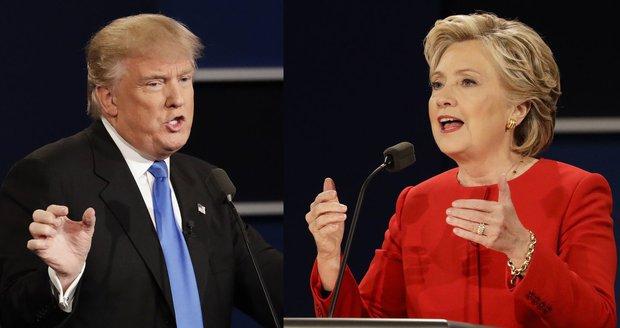 """Deset věcí, kde se Trump a Clintonová """"poštěkali"""": Irák, ISIS i rasistická lež"""