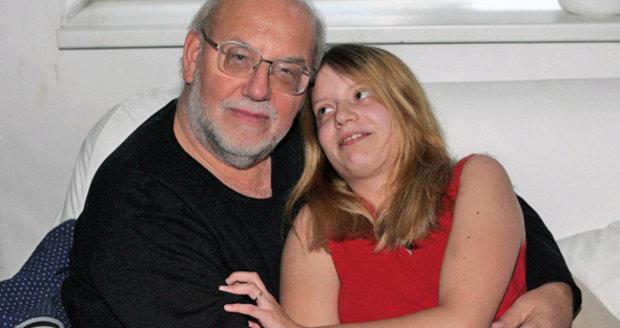 Jan Nedvěd se svou láskou Pavlínkou