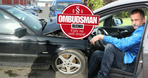 Autonehoda se služebním autem, které nemělo zákonné pojištění, přinesla panu Liškovi obrovské problémy. Kdo zaplatí škodu?